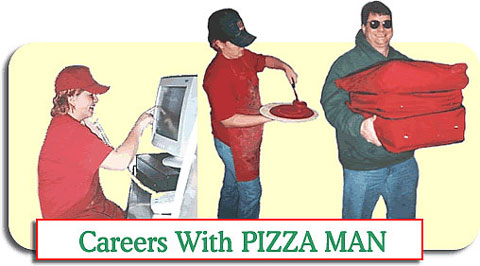 The History of Pizza Man