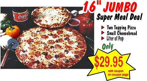 Jumbo Pizza Offer